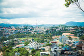 Dalat city view — Stock Photo