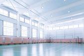 Indoors tennis court — Stock Photo