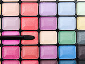 Professional makeup palette — Stock Photo