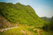 Mountains of Catba island — Stock Photo