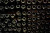 Mahzeni şarap şişe — Stok fotoğraf