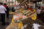 Fish Marquet in Marseille — Stock Photo