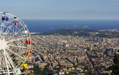Noria over Barcelona — Stock fotografie