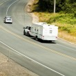 Recreational vehicles on the highway — Stock Photo #2739589
