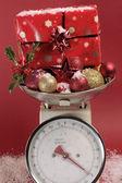 χριστουγεννιάτικα διακοσμητικά παιχνίδια — Φωτογραφία Αρχείου