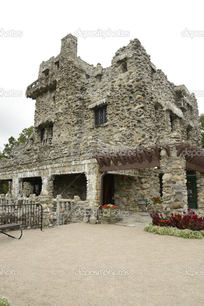 Gillette Castle near East Haddam and Lyme, Connecticut  Stock Photo #13181416