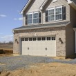Foto Stock: New home construction