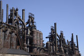 Old Bethlehem steel factory in Pennsylvania — Stock Photo