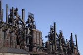 Old Bethlehem steel factory in Pennsylvania — Stock Photo