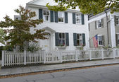 Federal style home in Connecticut — Stock Photo