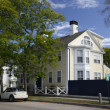 Stock Photo: Colonial house in New England