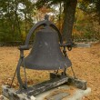 Old cast iron churchbell — Stock Photo