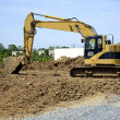 Backhoe — Stock Photo