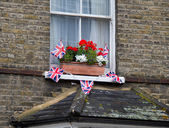 Celebration Bunting for Diamond Jubilee — Stock Photo