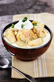 White Chicken Chili — Stock Photo
