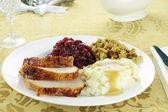 şükran türkiye yemek — Stok fotoğraf