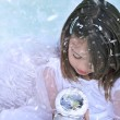 Snow Angel — Foto de Stock