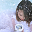 Snow Angel — Stock Photo