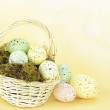 Royalty-Free Stock Photo: Spotted Easter Eggs