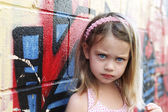 Little Urban Child — Stock Photo