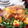 Stock Photo: Delicious Turkey Dinner