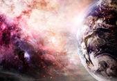 Creation of Earth — Stock Photo