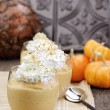 Pumpkin Smoothies — Stock Photo