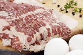 Raw Bacon — Stock Photo