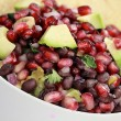 Stock Photo: Black Bean, Pomegranate and Avocado Relish