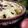 Stock Photo: Homemade Pear Crisp