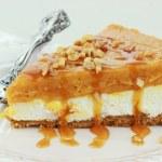 Double Layer No Bake Pumpkin Pie — Stock Photo #4248717