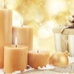 Christmas Candles — Stock Photo #7918764