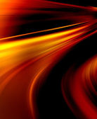 Abstract wavy background in red, orange and yellow colors — Stock Photo