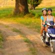 Motorcycle ride on the countryside — Stock Photo #30354653