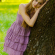 Beautiful girl in the park — Stock Photo #38371031