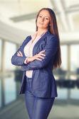 Business woman in her office — Foto de Stock