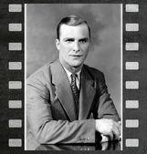 Man in 1940 — Stock Photo