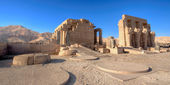 Temple of Ramses (Ramesseum) in Luxor — Stock Photo