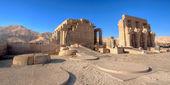 Temple of Ramses (Ramesseum) in Luxor — Stock Photo