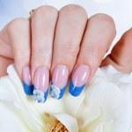 Beautiful manicure — Stock Photo #15633447