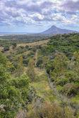 Bela paisagem da maurícia — Foto Stock