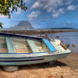 Boat on Mauritius — Stock Photo