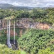Chamarel waterfall in Mauritius — Stock Photo