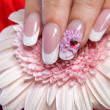 Beautiful manicure — Stock Photo #23955235
