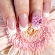 Beautiful manicure - Foto Stock