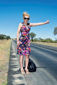 Hitchhiker — Stock Photo