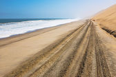 Seaside road — Stock Photo