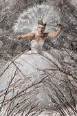 Snow queen — Stock Photo
