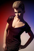 Fashion model — Stock Photo