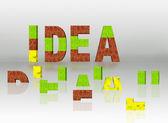Idéia — Foto Stock